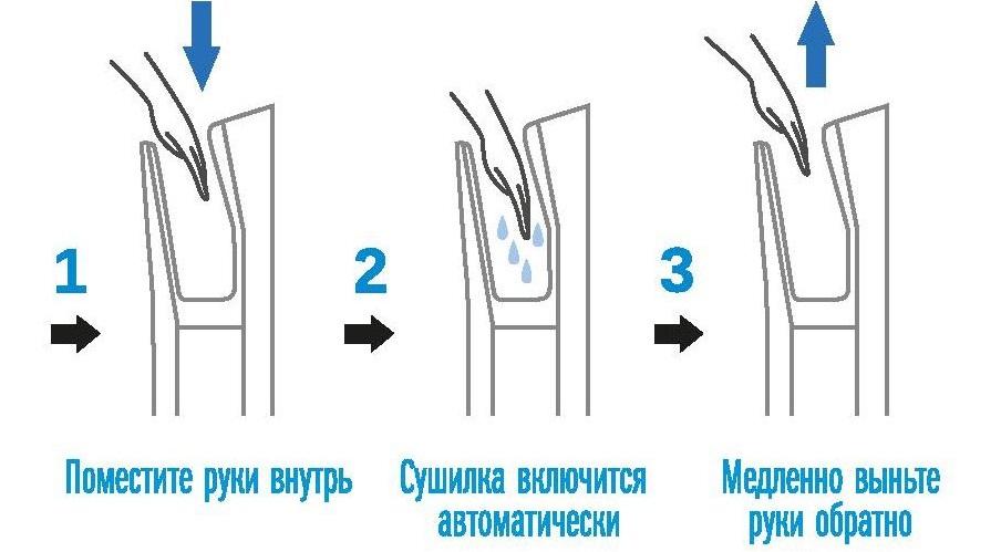 Ремонт сушилки для рук своими руками