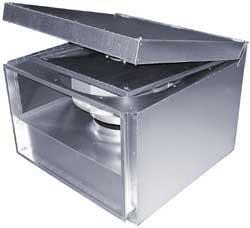 Шумоизолированный вентилятор Ostberg RKBI 600x350 B3