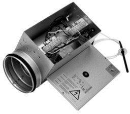 Канальный нагреватель Systemair CBM 250-6,0 400V/2