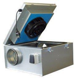 Шумоизолированный вентилятор Systemair KVKE 315 L
