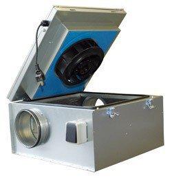 Шумоизолированный вентилятор Systemair KVKE 160