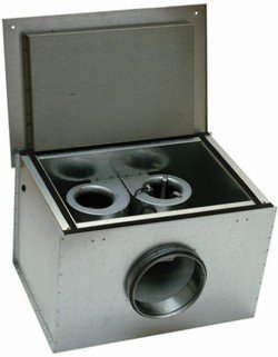Шумоизолированный вентилятор Systemair KVK DUO 250