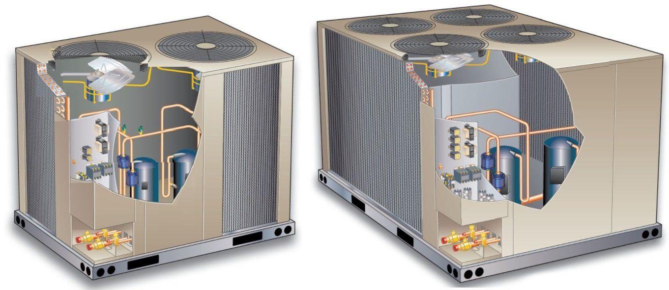 Преимущества компрессорно-конденсаторных блоков
