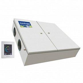 Приточно-вытяжная установка с рекуперацией Komfovent Domekt-CF-500-F-HW/DH