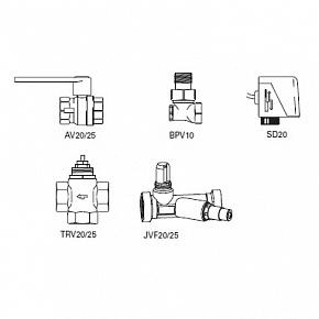 Комплект клапанов Frico VR 25