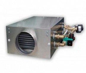 Канальный увлажнитель воздуха испарительного (адиабатического) типа Breezart  1000 HumiAqua P с водяным нагревателем