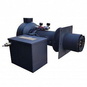 Горелка на отработанном масле Гном турбо 1000 кВт для отражательных печей МКПА-01