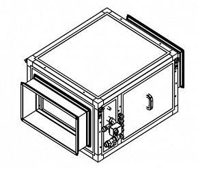 Секция увлажнителя Breezart Humi Aqua 3500 с водяным нагревателем