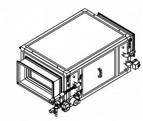 Секция увлажнителя Breezart Humi Aqua P 3500 с водяным нагревателем