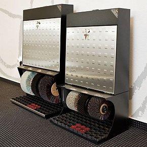 Аппарат для чистки обуви Heute Polifix 3 Steel