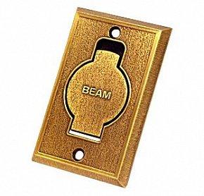 Пневморозетка Beam Electrolux бронза