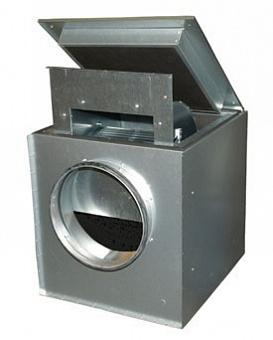 Шумоизолированный вентилятор Systemair KVK 400