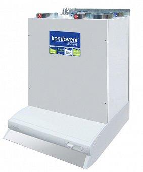 Приточно-вытяжная установка с рекуперацией Komfovent Domekt-R-200-V-HW/DH