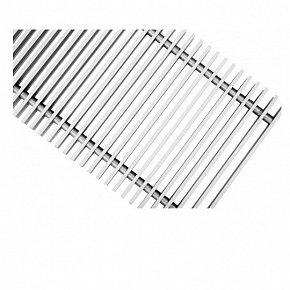 Решетка поперечная алюминиевая Techno, цвет серебро